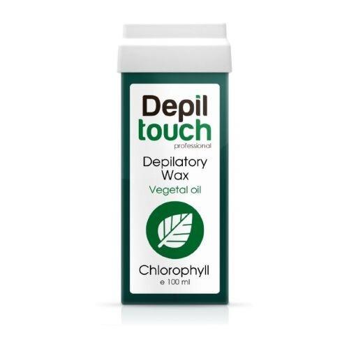 Depiltouch Воск Хлорофилл в картридже 100 г