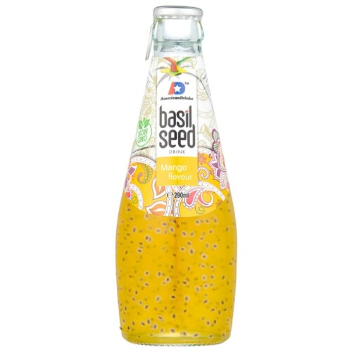цена Напиток сокосодержащий Basil Seed Манго, 0.29 л онлайн в 2017 году