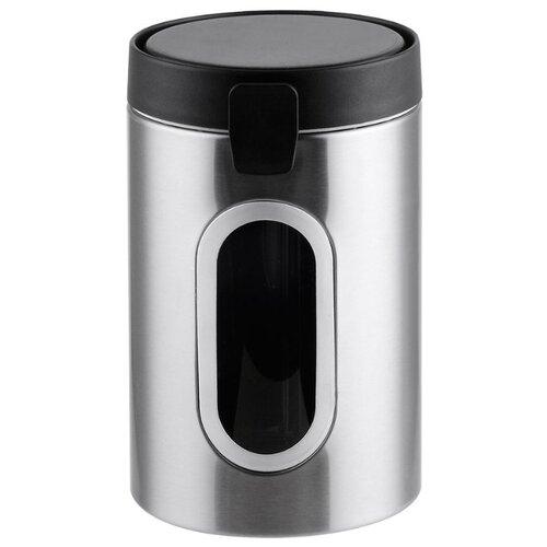 Winner Контейнер для сыпучих продуктов WR-6915 черный/серебристый