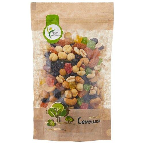 Смесь орехов, сухофруктов и цукатов Семушка орехи с цукатами 250 г camel смесь из различных орехов бобов горошка 150 г