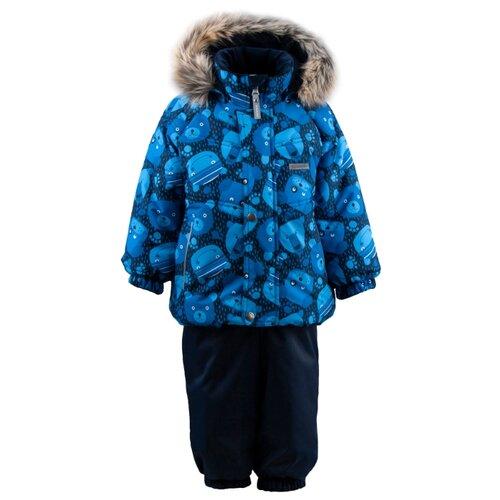 Купить Комплект с полукомбинезоном KERRY размер 92, 6350 синий, Комплекты верхней одежды
