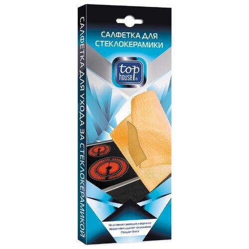 Салфетка Top House для стеклокерамики, оранжевый салфетка top house для стеклокерамики 31 х 32 см