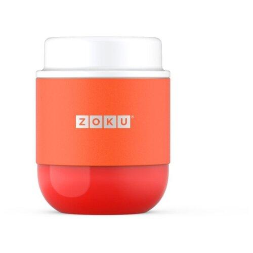 Вакуумный контейнер Zoku Neat Stack 295 мл оранжевый