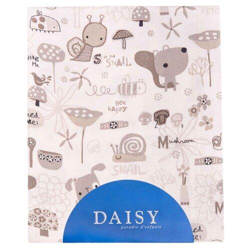 Купить Многоразовые пеленки Daisy хлопок 90x150 улитки, Пеленки, клеенки