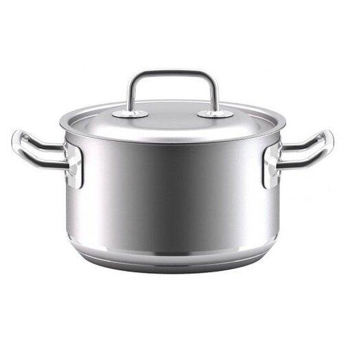 Кастрюля ВСМПО-Посуда Гурман-Профи 330325, 2.5 л, серебристый