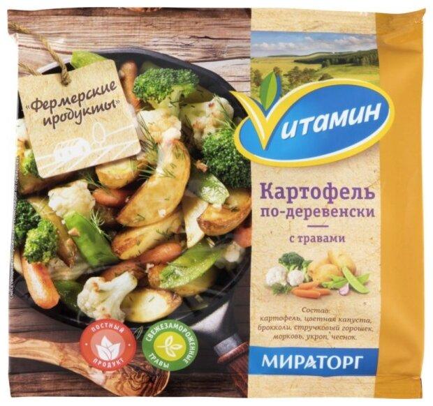 Vитамин Картофель по-деревенски с травами 400 г