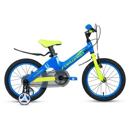 Детский велосипед FORWARD Cosmo 16 2.0 (2020) синий (требует финальной сборки)