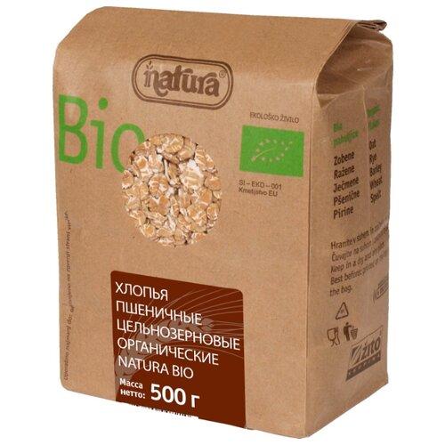 Zito Хлопья пшеничные цельнозерновые, 500 г