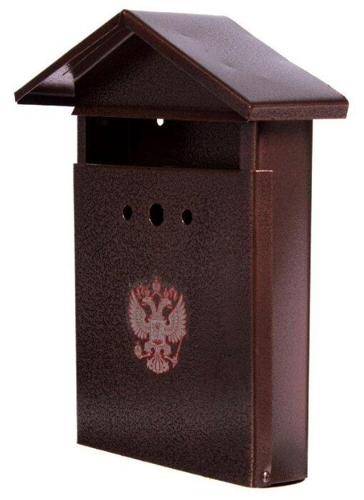 Почтовый ящик Горыныч Элит 10879 400х240 мм, коричневый