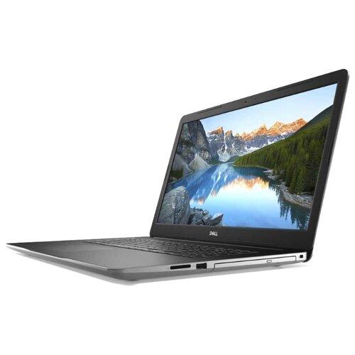 Купить Ноутбук DELL INSPIRON 3793 (Intel Core i3 1005G1 1200MHz/17.3 /1920x1080/8GB/256GB SSD/DVD-RW/Intel UHD Graphics/Wi-Fi/Bluetooth/Linux) 3793-8734 серебристый