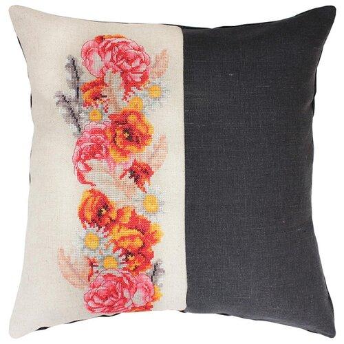Набор для вышивания, подушка Цветочная гирлянда, Luca-S LUCA-S PB128