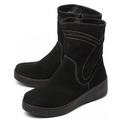 Женские ботинки натуральная кожа (замша) / шерсть марко 40470.0 размер 36 российский