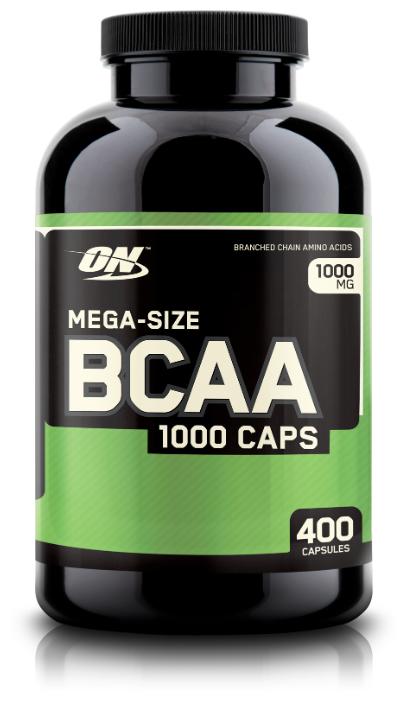 BCAA Optimum Nutrition BCAA 1000 (400 капсул) нейтральный
