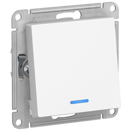 Переключатель (с 2-х мест) Schneider Electric ATN000163 AtlasDesign, 10 А, белый переключатель schneider electric 22мм 2 позиции черный xb5ad21