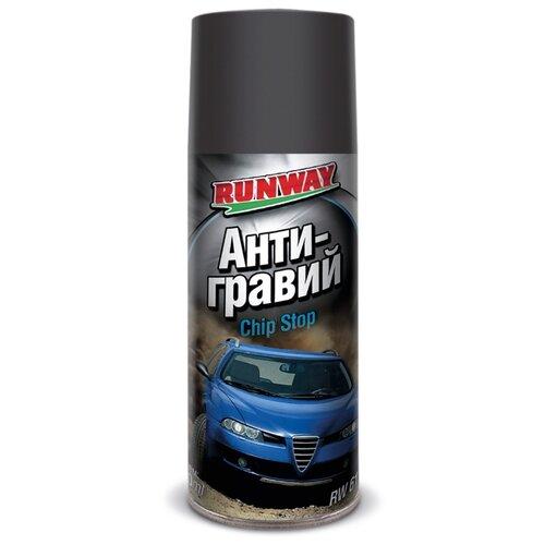 Жидкий антигравий RUNWAY RW/6100/RW6101 серый 0.45 л баллончик