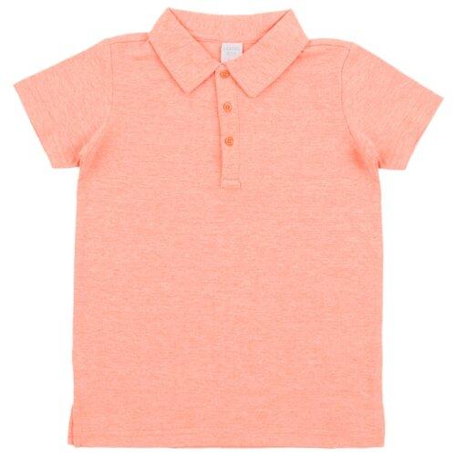 Купить Поло Leader Kids размер 110, оранжевый, Футболки и майки