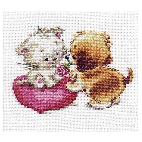 Купить 0-99 Набор для вышивания АЛИСА 'Ты мне нравишься' 15*11см, Алиса, Наборы для вышивания