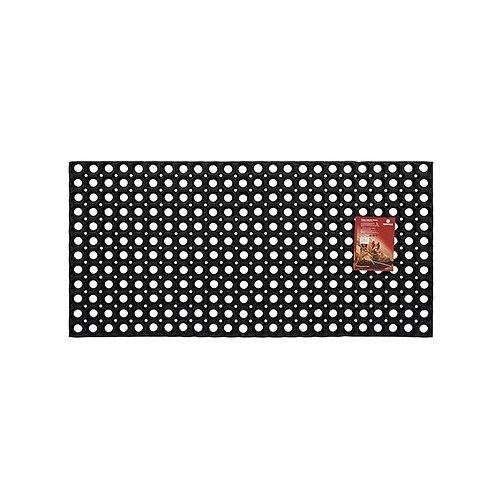 Придверный коврик VORTEX Профи ячеистый, размер: 1х0.5 м, черный цена 2017