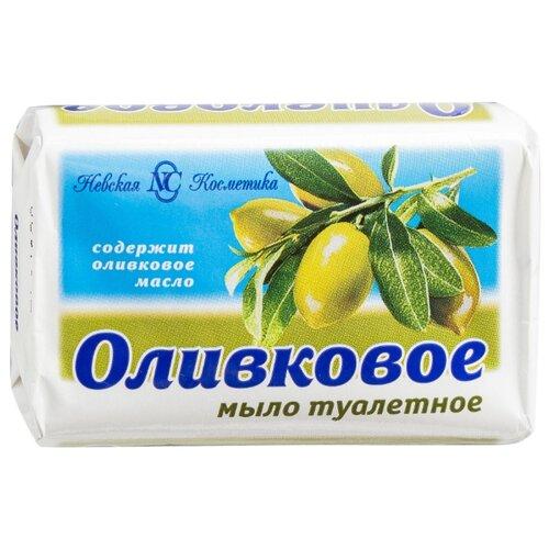 Мыло кусковое Невская Косметика Оливковое, 90 г  - Купить