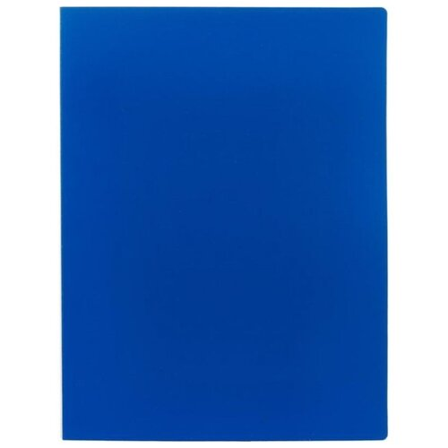 Attache Папка-скоросшиватель с пружинным механизмом А4, пластик 450 мкм синий attache папка скоросшиватель fluid а4 пластик фиолетовый