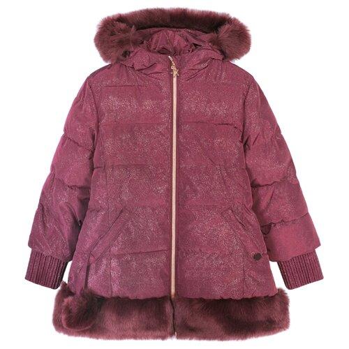 Купить Куртка COCCODRILLO Fairy Z18151101FAI размер 104, бордовый, Куртки и пуховики