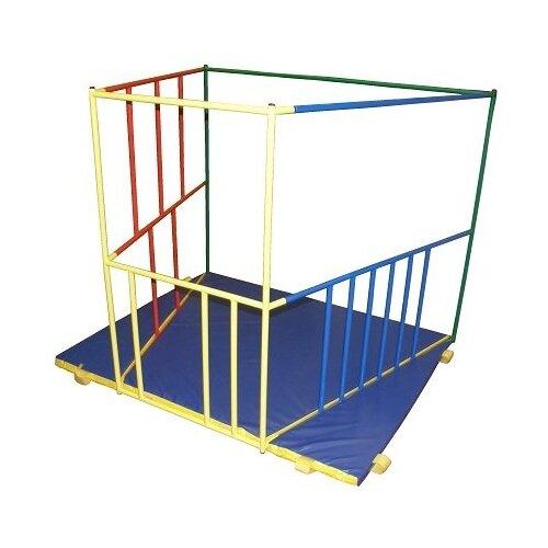 Купить Спортивно-игровой комплекс Ранний старт Люкс базовая комплектация синий/зеленый/желтый/красный, Игровые и спортивные комплексы и горки
