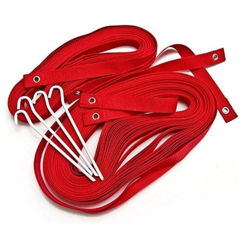 Комплект для разметки площадки для пляжного волейбола Kv.REZAC 15095874, красный