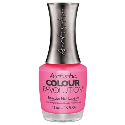 Лак Artistic Nail Design Color Revolution Nail Lacquer, 15 мл, оттенок DEVIL WEARS NADA лак artistic nail design color revolution nail lacquer 15 мл оттенок cheeky