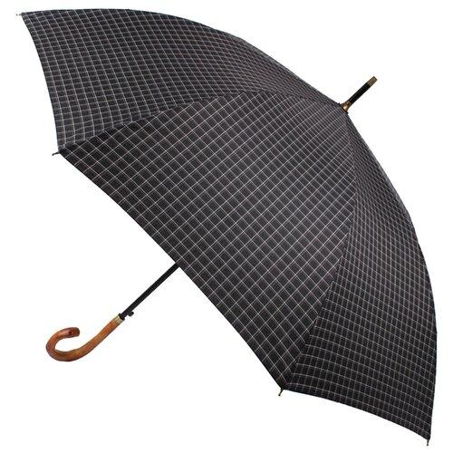 Зонт-трость полуавтомат FLIORAJ Premium мужской черная клетка зонт трость женский flioraj 290401 fj полиэстер teflon полуавтомат цвет мультиколор