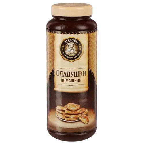 ТЕСТОВЪ Смесь для выпечки Оладушки домашние, 0.4 кг