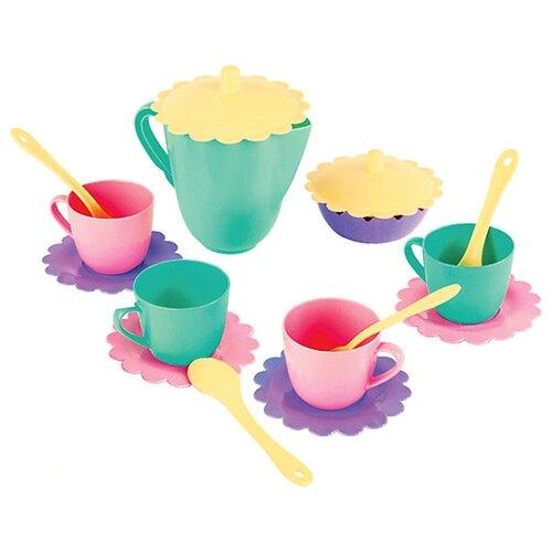 Набор посуды Mary Poppins Бабочка 39318 зеленый/розовый/фиолетовый mary poppins посуда mary poppins чайный сервиз бабочка 16 предметов
