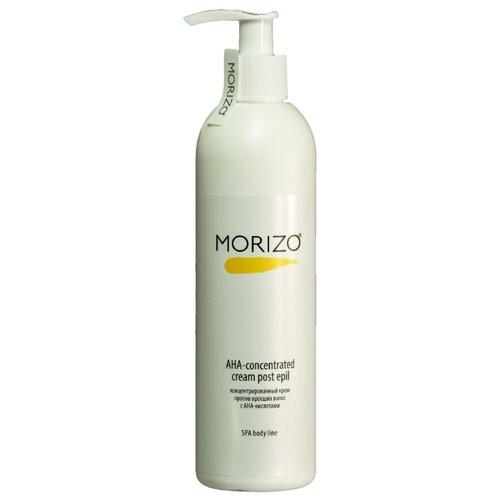 Morizo Крем-концентрат от вросших волос с AHA кислотами 300 мл химический пилинг от вросших волос на ногах
