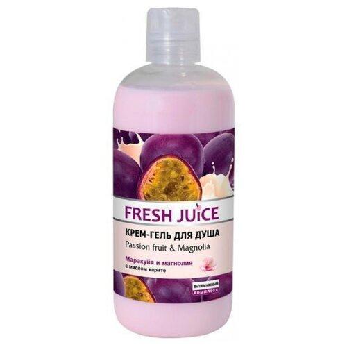 Купить Крем-гель для душа Fresh Juice Passion fruit & magnolia, 500 мл