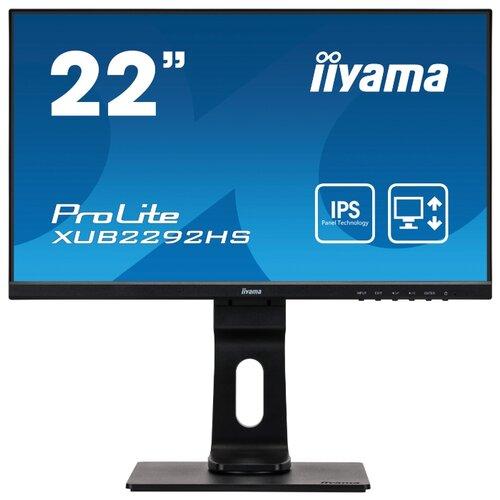 Купить Монитор Iiyama ProLite XUB2292HS-1 21.5 черный