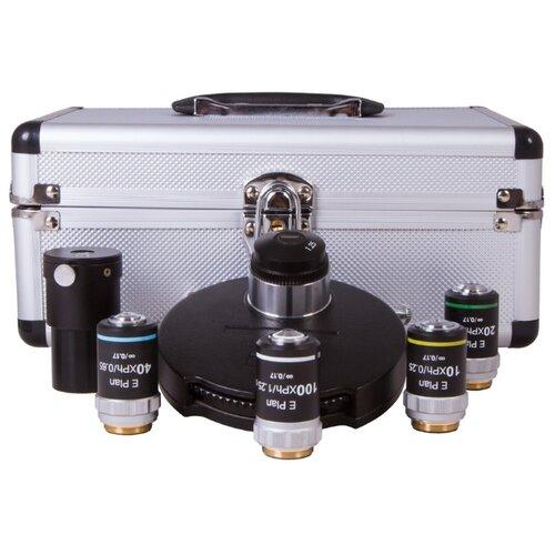 Фазово-контрастное устройство LEVENHUK MED 40 (темное поле) 73374 черный/серебристый по цене 58 191