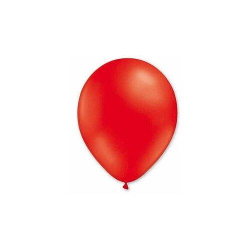Набор воздушных шаров MILAND Металлик 21 см (100 шт.) красный