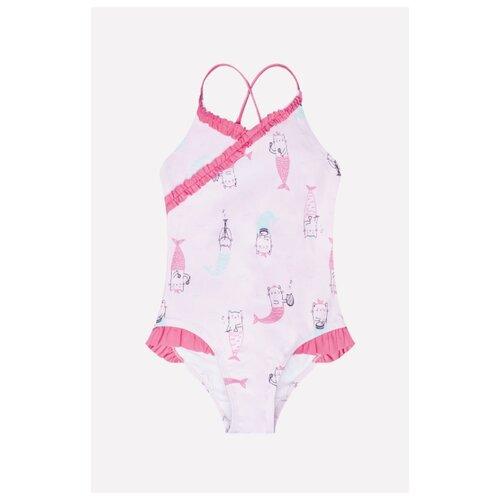 Купить Купальник crockid размер 104-110, светло-розовый, Белье и купальники