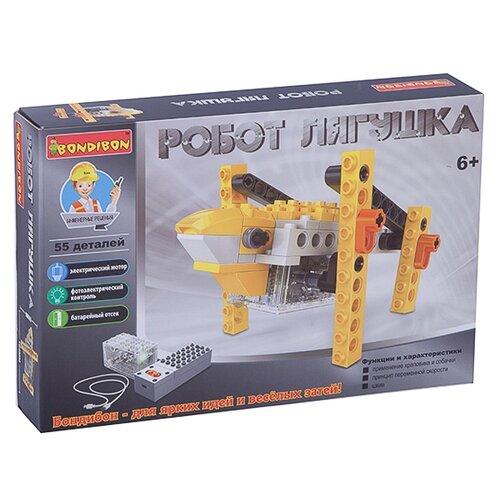 Электромеханический конструктор BONDIBON ВВ3494 Робот Лягушка