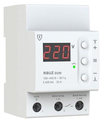Реле контроля напряжения RBUZ D-25t — цены на Яндекс.Маркете
