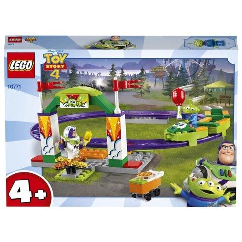 Конструктор LEGO Toy Story 10771 Аттракцион «Паровозик» конструктор металлический паровозик 00949