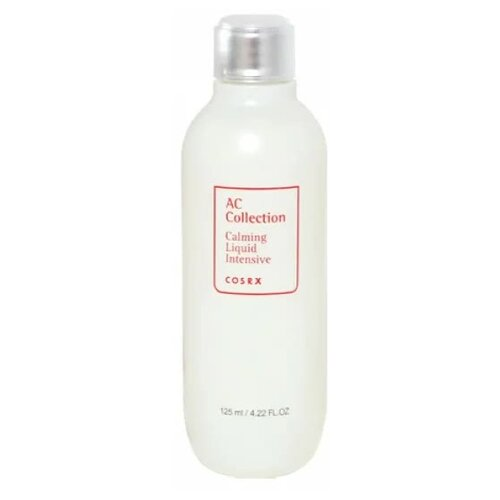 COSRX Тонер успокаивающий AC Collection Calming Liquid Intensive, 125 мл успокаивающий тонер для лица ac collection calming liquid intensive 125мл