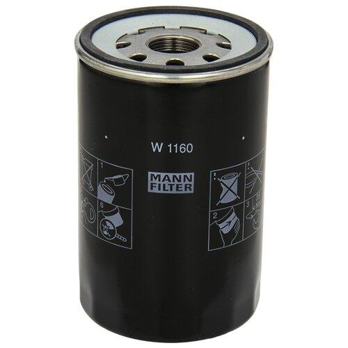 Масляный фильтр MANNFILTER W1160