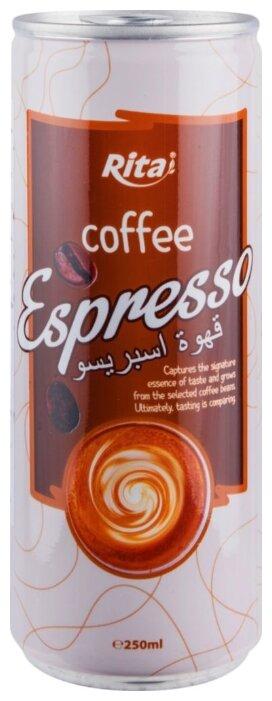 Кофейный напиток Rita Эспрессо с молоком 0.25 л
