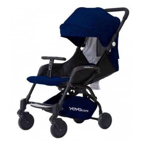 Купить Прогулочная коляска Yoya Care 2018 синий/черная рама, цвет шасси: черный, Коляски