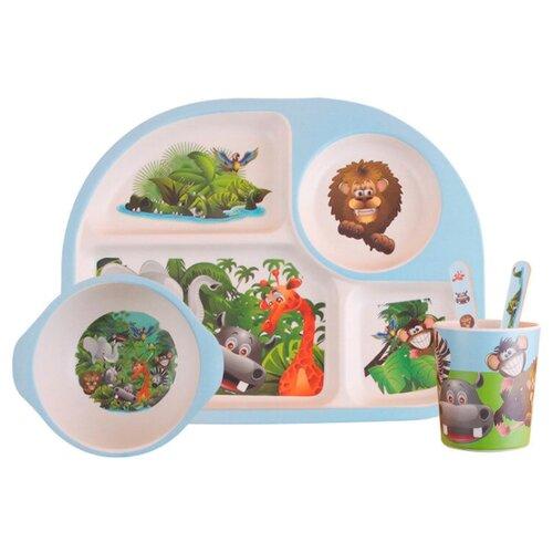 Комплект посуды Baby Ryan BF002 мадагаскар