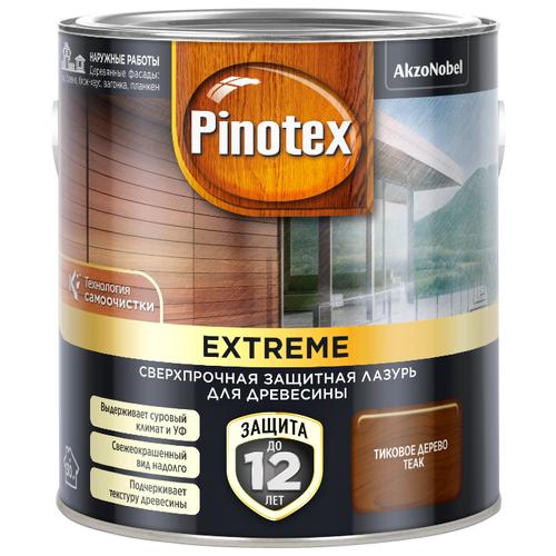 Водозащитная пропитка Pinotex Extreme тиковое дерево 2.5 л