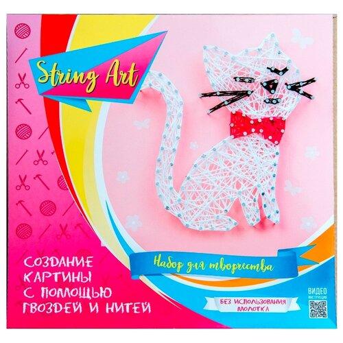 Купить String Art Lab Набор для творчества Кошка (П005), Поделки и аппликации