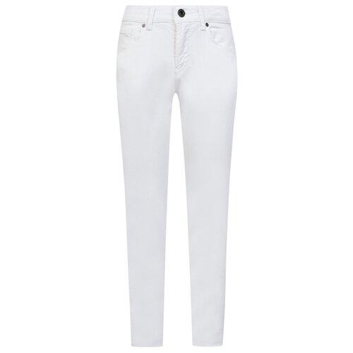 Джинсы EMPORIO ARMANI размер 140, 0100 белый футболка emporio armani размер 140 белый