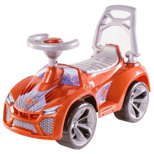Купить Каталка-толокар Orion Toys Ламбо (021) со звуковыми эффектами коричневый перламутр, Каталки и качалки