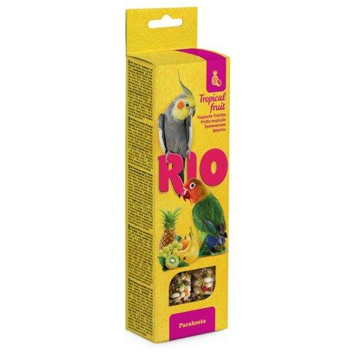 Лакомство для птиц RIO с тропическими фруктами 150 г